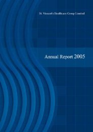 Annual Report - St Vincent's University Hospital