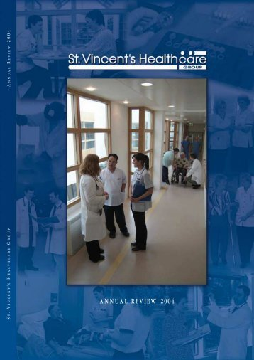 ANNUAL REVIEW 2004 - St Vincent's University Hospital