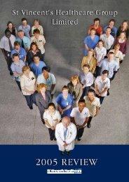 Review 2005 - St Vincent's University Hospital