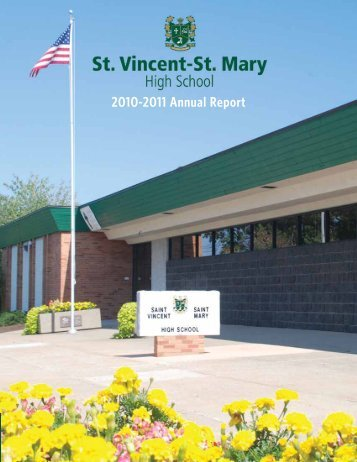 2010-2011 Annual Report - St. Vincent-St. Mary High School