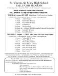 stvm 2013 fall sports program - St. Vincent-St. Mary High School - Page 2