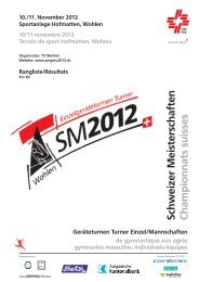 SM in Wohlen K5 / K6 - STV Roggliswil