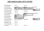 LA Innerschweizermeisterschaft in Luzern - STV Roggliswil