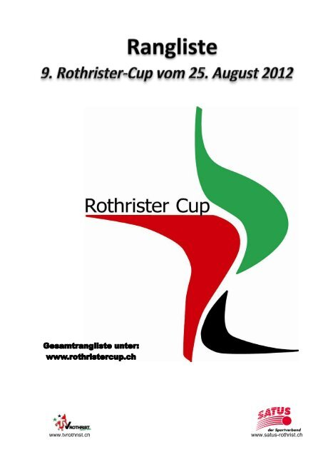 Rothrist Cup - STV Roggliswil
