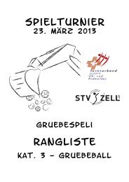 Gruebespeli 2013 - STV Roggliswil