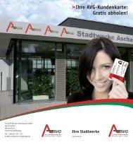 Flyer zur Kundenkarte - Stadtwerke Aschaffenburg