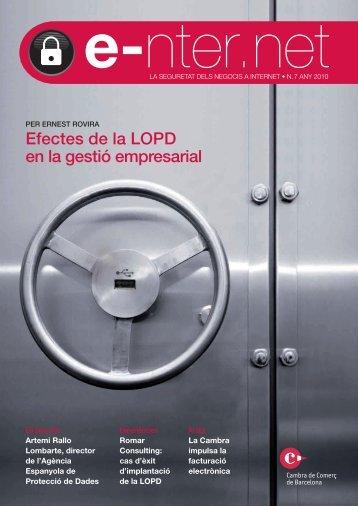 efectes de la LopD en la gestió empresarial