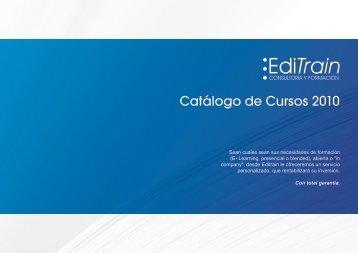 Catálogo de Cursos 2010