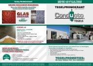 TEGELPROMOKRANT TEGELPROMOTIES: - Proximedia