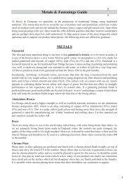 Metals & Fastenings Guide - Proximedia