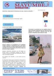 ENFIN UNE COMMUNAUTE CONGOLAISE DE LIEGE ... - Proximedia