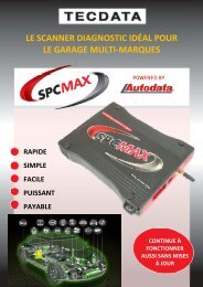 le scanner diagnostic idéal pour le garage multi-marques - Proximedia