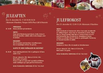 JULEFROKOST - Stena Line