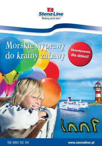 Morskie wyprawy do krainy zabawy Morskie wyprawy ... - Stena Line