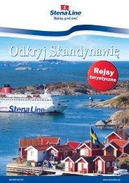 Odkryj Skandynawię - Stena Line