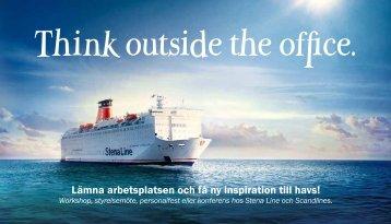 Lämna arbetsplatsen och få ny inspiration till havs! - Stena Line