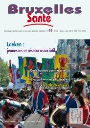 Bruxelles Santé n° 65 - mars 2012 - Question santé