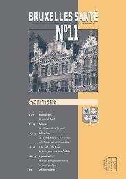 Bruxelles Santé n°11 - Question santé