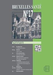 Bruxelles Santé n°17 - mars 2000 - Question santé