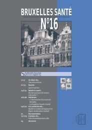 Bruxelles Santé n°16 - Question santé