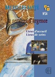 Bruxelles Santé n°24 - décembre 2001 - Question santé