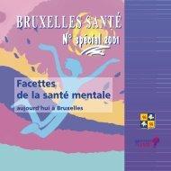 Facettes de la santé mentale : aujourd'hui à Bruxelles - Question santé