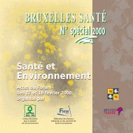 Santé et Environnement - Question santé