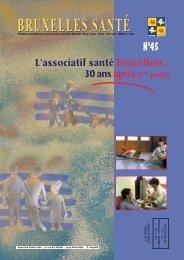Bruxelles Santé n° 45 - mars 2007 - Question santé
