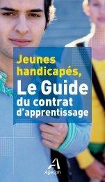 guide du contrat d'apprentissage - SRFPH Aquitaine