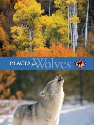 Places for Wolves - Defenders of Wildlife