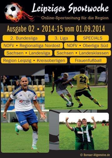 Ausgabe 02 2014-15 vom 01.09.2014