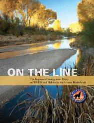 On the Line - Defenders of Wildlife