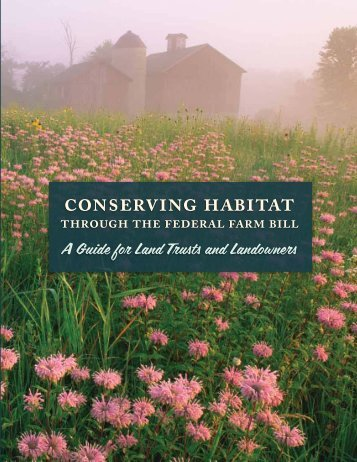 Conserving Habitat through the Federal Farm Bill - Defenders of ...