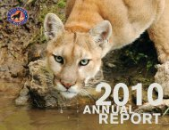 2010 Annual Report - Defenders of Wildlife