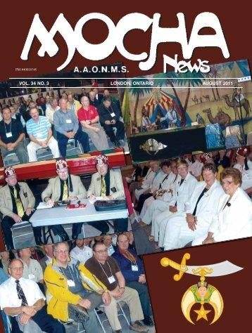 Mocha August 2011.indd - Mocha Shriners