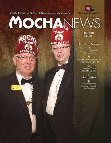 May, 2013 - Mocha Shriners