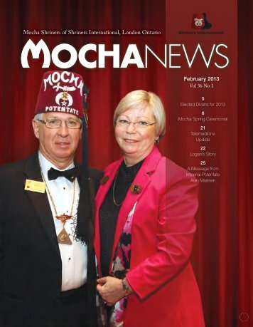 Mocha News - February, 2013 - Mocha Shriners
