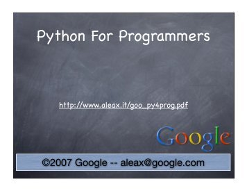 Python For Programmers - Classes