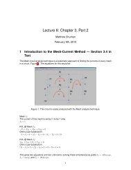 Lecture 8: Chapter 3, Part 2 - Classes