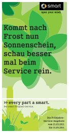 der smart Original-Service. - Autohaus Pickel