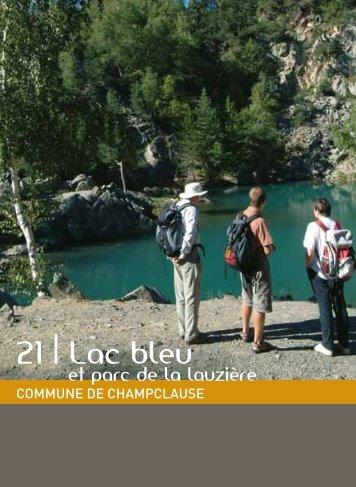 21   Lac bleu - Vacances en Auvergne