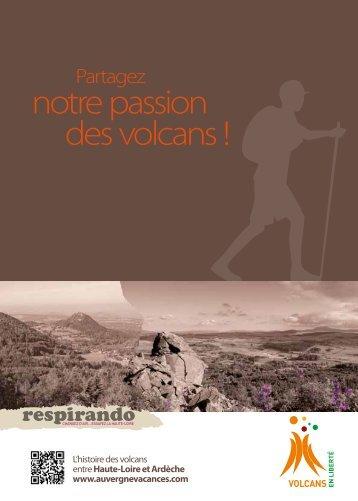 notre passion des volcans ! - Vacances en Auvergne