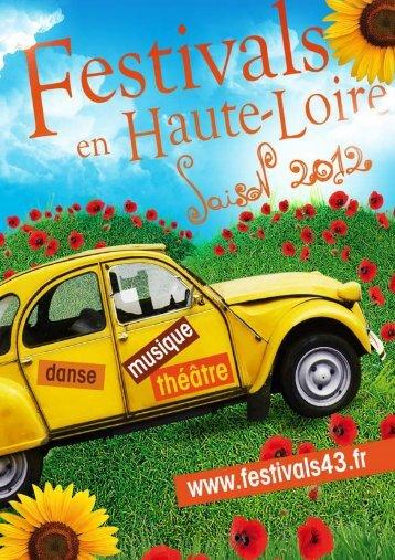les festivals - Haute-Loire Musiques Danses