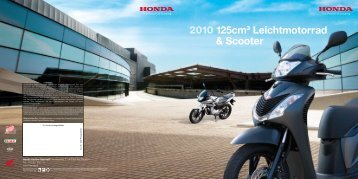 2010 125cm3 Leichtmotorrad & Scooter - Honda