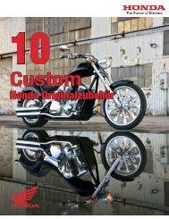 Custom - Honda
