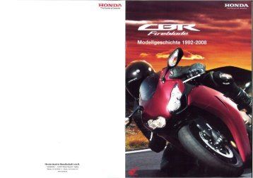 CBR1000RR Fireblade Modellgeschichte (PDF, 5.5 MB) - Honda