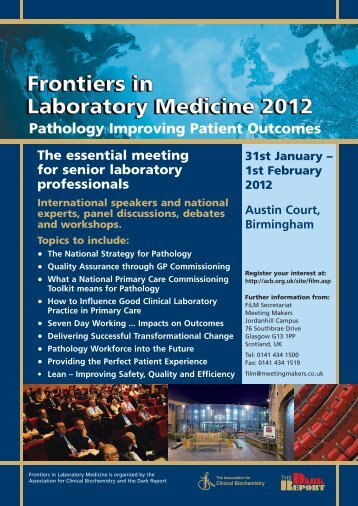 Pathology Improving Patient Outcomes