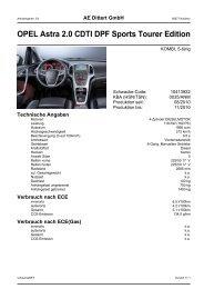 OPEL Astra 2.0 CDTI DPF Sports Tourer Edition - Autohaus AE ...