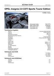 OPEL Insignia 2.0 CDTI Sports Tourer Edition - Autohaus AE-Dittert ...