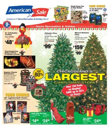 Home Recreation & Holiday - American Sale